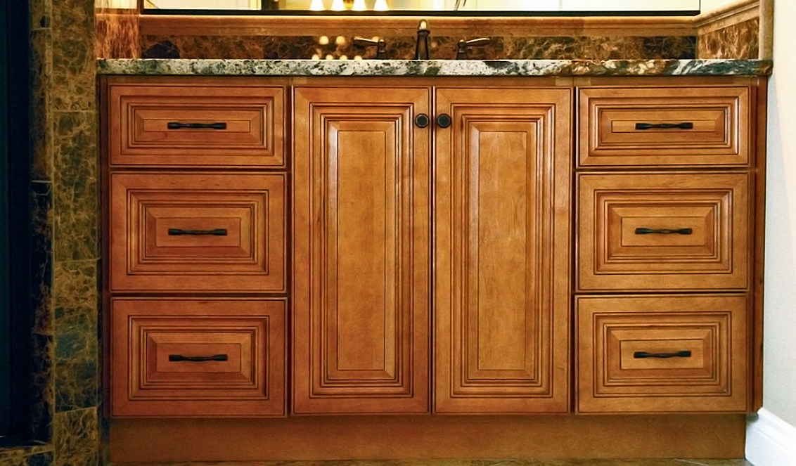 Quality Cabinets NJ  Cinnamon Maple glaze