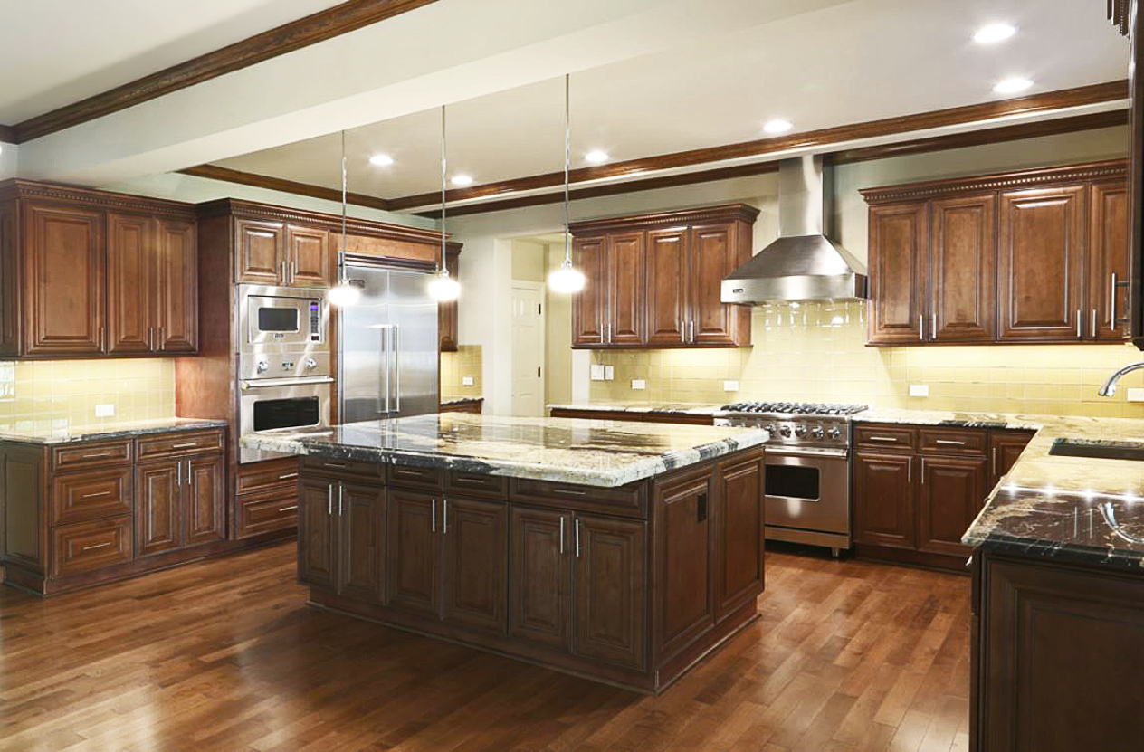Quality Cabinets Nj Chocolate Maple Glaze